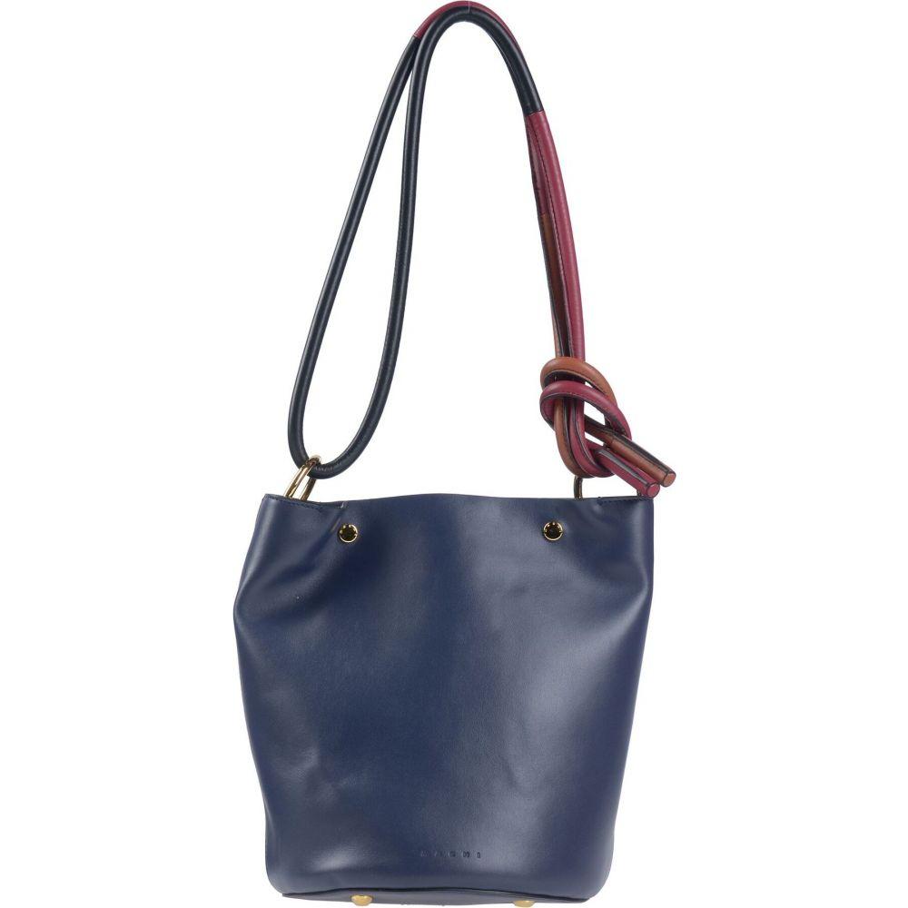 マルニ MARNI レディース ショルダーバッグ バッグ【shoulder bag】Dark blue