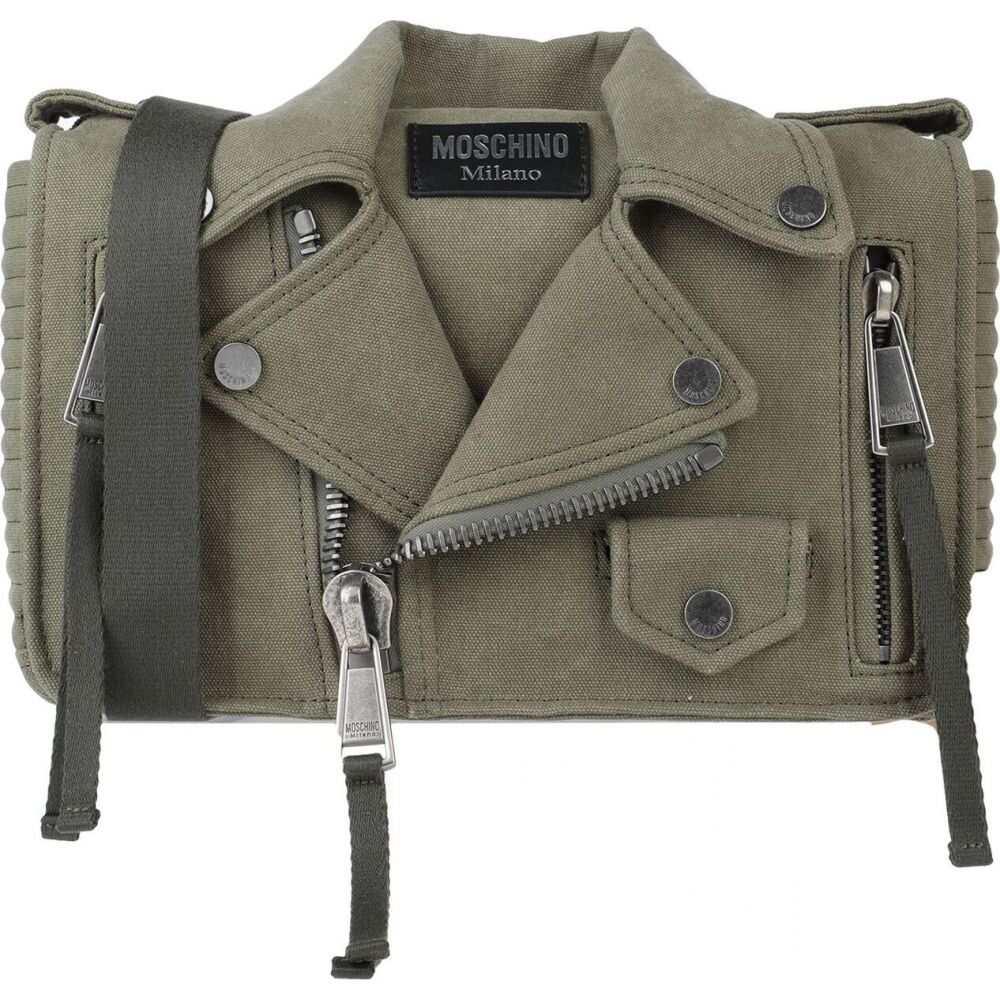 モスキーノ MOSCHINO レディース ショルダーバッグ バッグ【cross-body bags】Military green