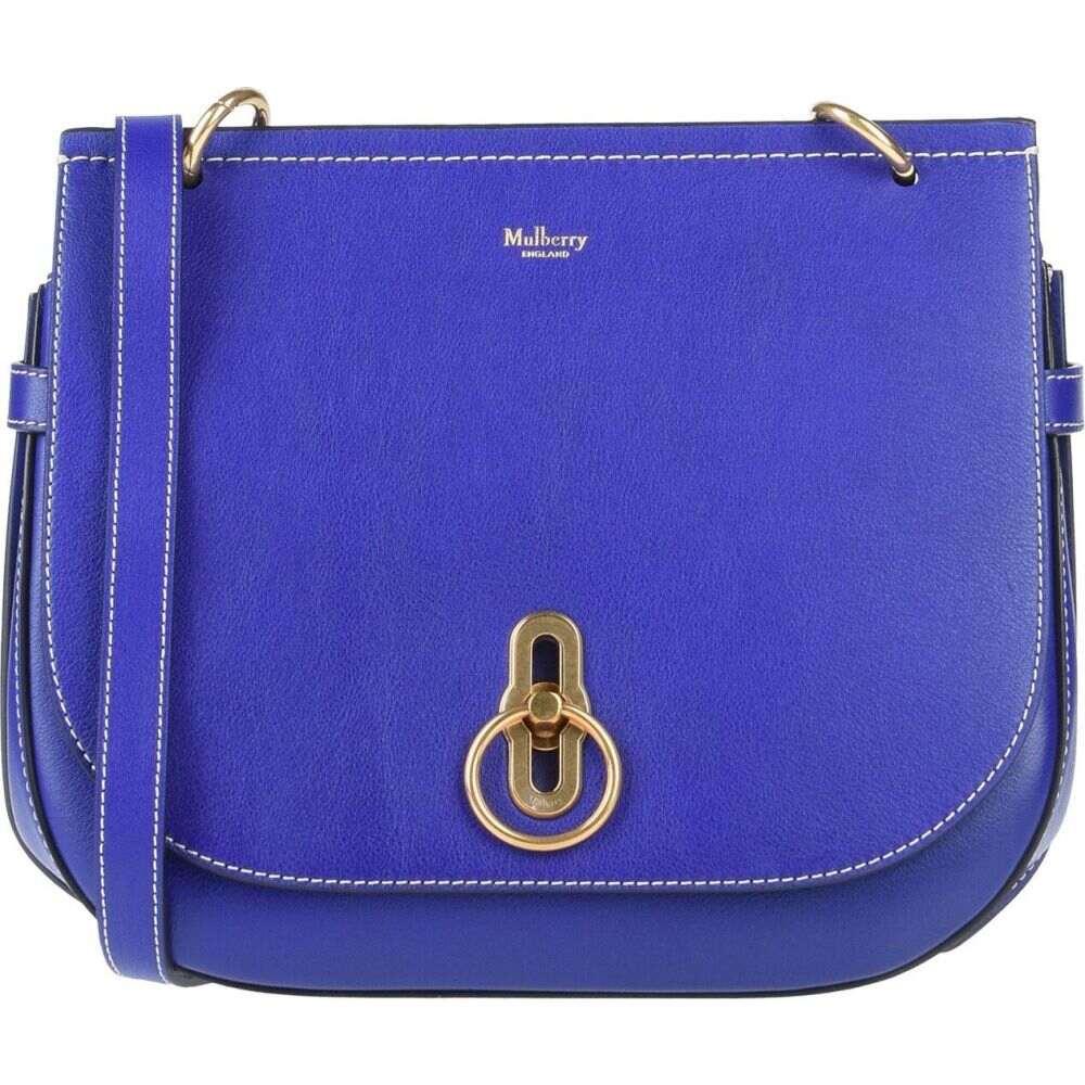マルベリー MULBERRY レディース ショルダーバッグ バッグ【cross-body bags】Blue