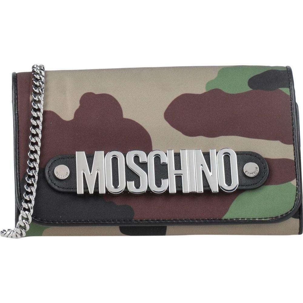モスキーノ MOSCHINO レディース ショルダーバッグ バッグ【cross-body bags】Khaki