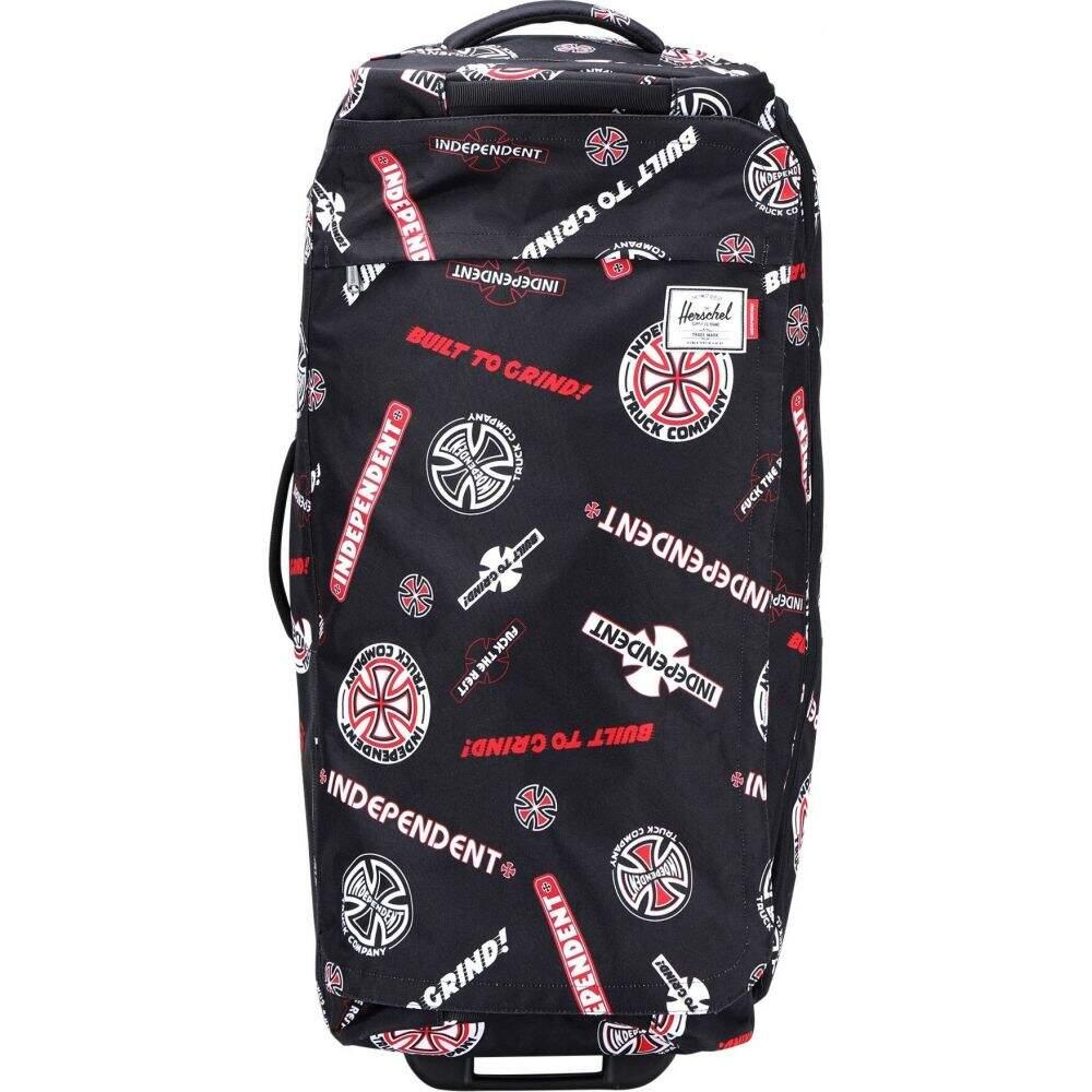 ハーシェル サプライ HERSCHEL SUPPLY CO. レディース スーツケース・キャリーバッグ バッグ【independent wheelie outfitter 97l luggage】Black