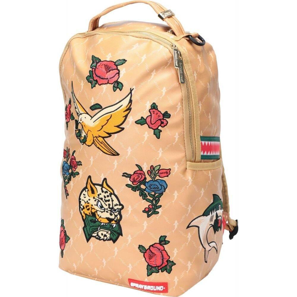 スプレイグラウンド SPRAYGROUND レディース バックパック・リュック バッグ【air italia backpack】Sand
