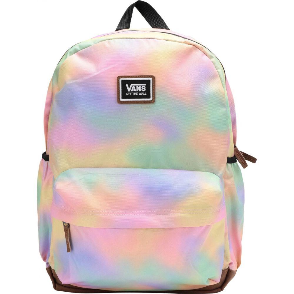 ヴァンズ VANS レディース バックパック・リュック バッグ【realm plus backpack aura wash】Pink