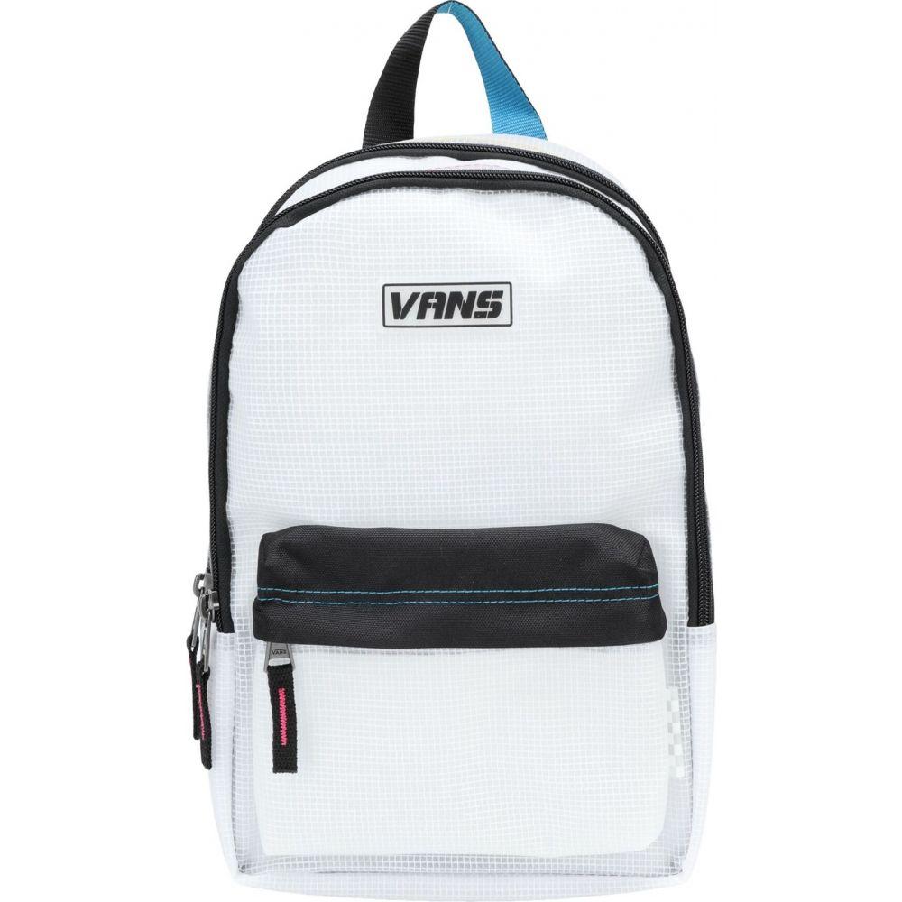 ヴァンズ VANS レディース バックパック・リュック バッグ【wm thread it backpack】White