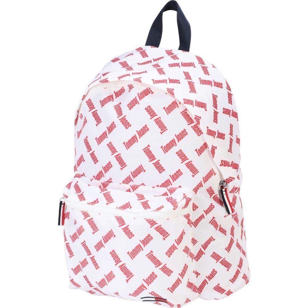 トミー ジーンズ TOMMY JEANS レディース バックパック・リュック バッグ【tjw cool city backpack】White
