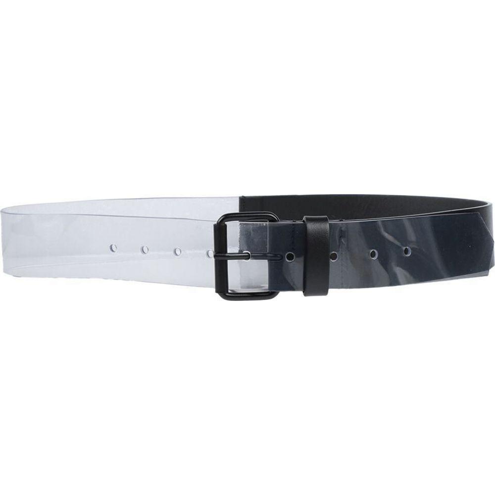 メゾン マルジェラ MM6 MAISON MARGIELA レディース ベルト 【regular belt】Black