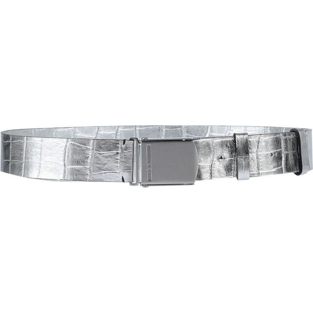 アレキサンダー マックイーン McQ Alexander McQueen レディース ベルト 【regular belt】Silver