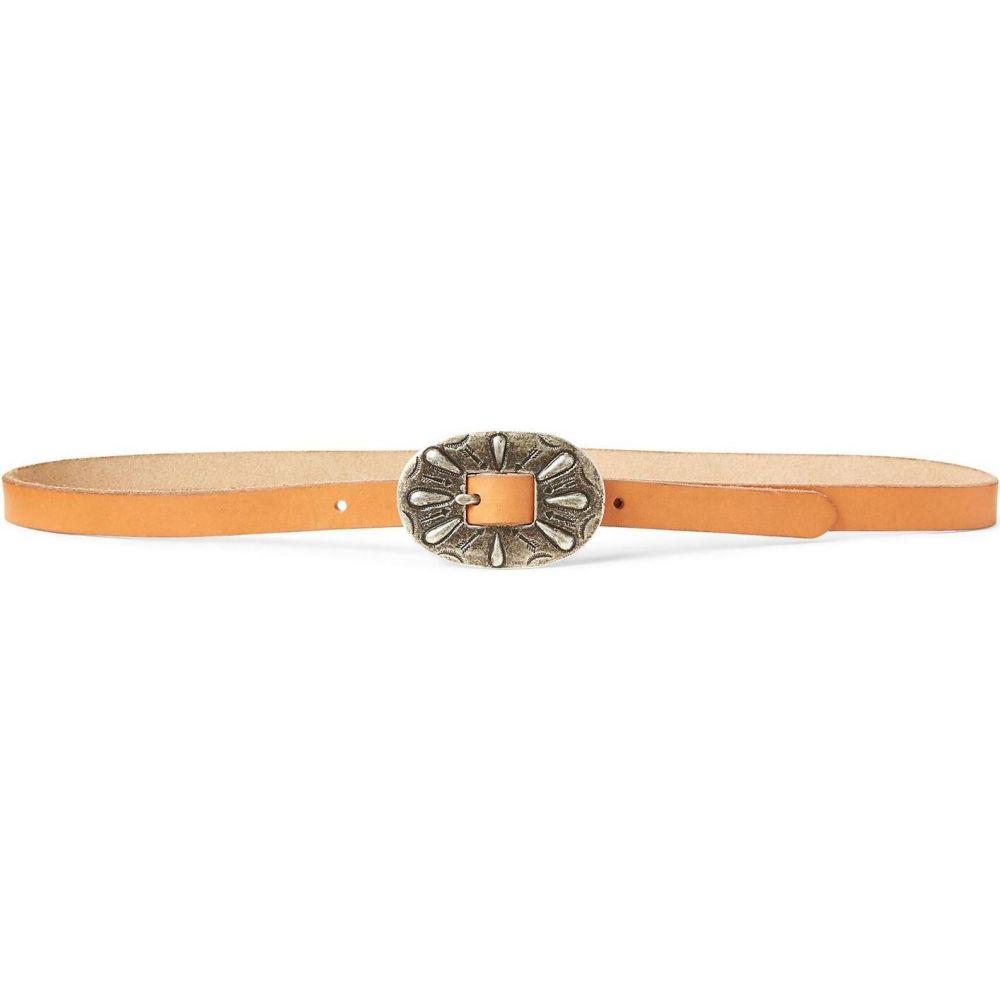 ラルフ ローレン POLO RALPH LAUREN レディース ベルト 【skinny leather buckle belt thin belt】Pale pink