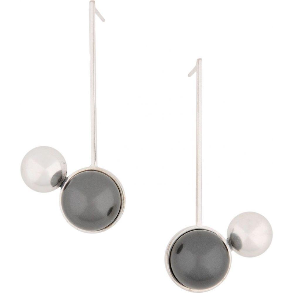 メゾン マルジェラ MAISON MARGIELA レディース イヤリング・ピアス ジュエリー・アクセサリー【earrings】Silver