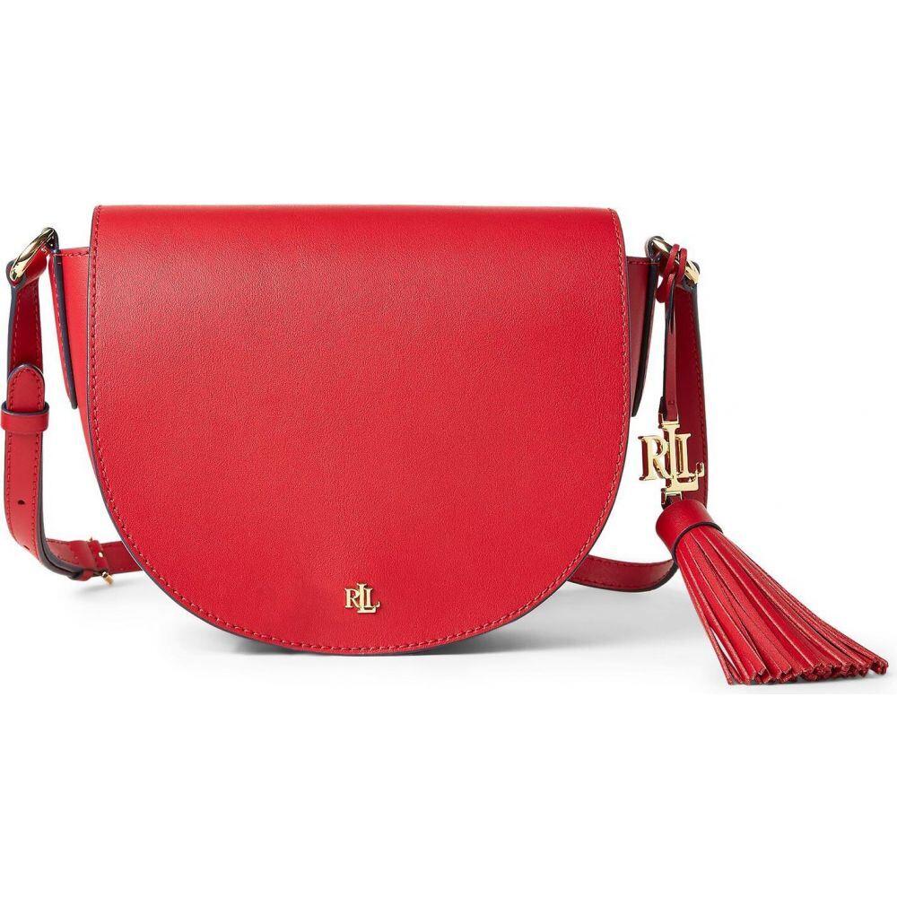 ラルフ ローレン LAUREN RALPH LAUREN レディース ショルダーバッグ バッグ【leather medium cross-body bag】Red