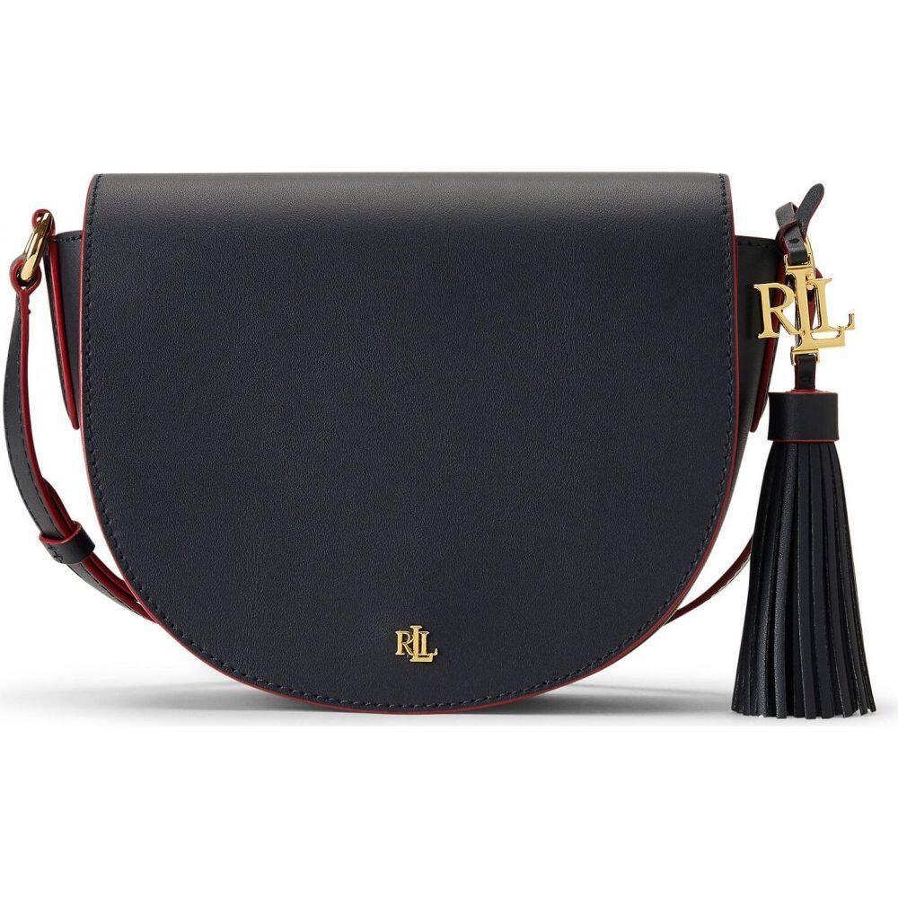 ラルフ ローレン LAUREN RALPH LAUREN レディース ショルダーバッグ バッグ【leather medium cross-body bag】Dark blue