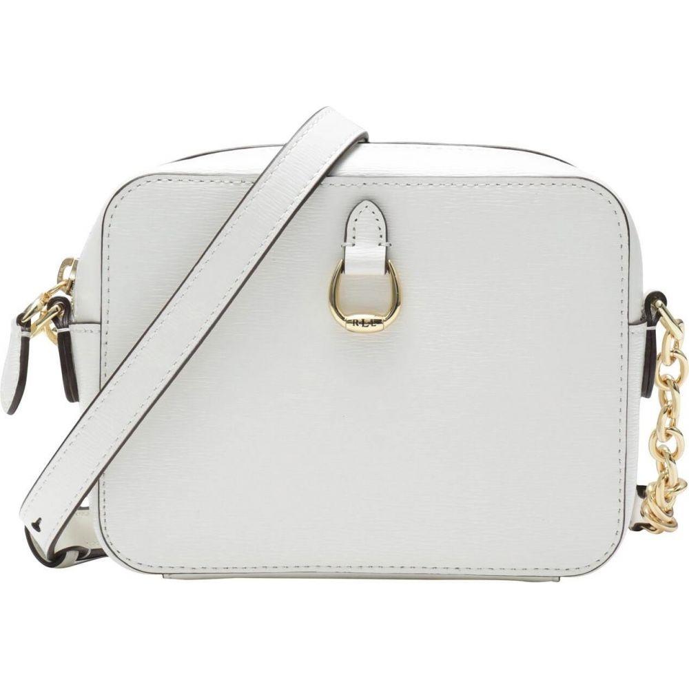ラルフ ローレン LAUREN RALPH LAUREN レディース ショルダーバッグ バッグ【saffiano leather crossbody bag】White