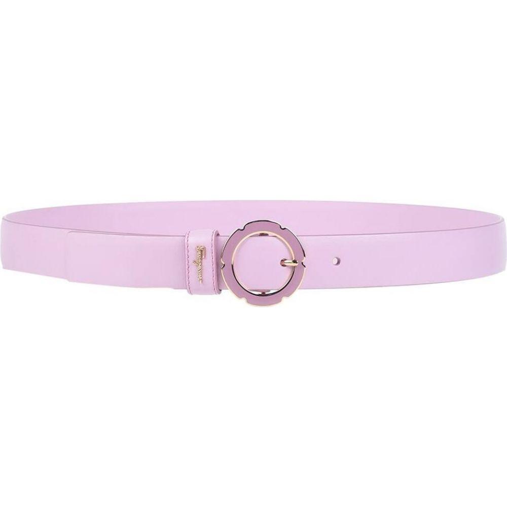 サルヴァトーレ フェラガモ SALVATORE FERRAGAMO レディース ベルト 【thin belt】Lilac