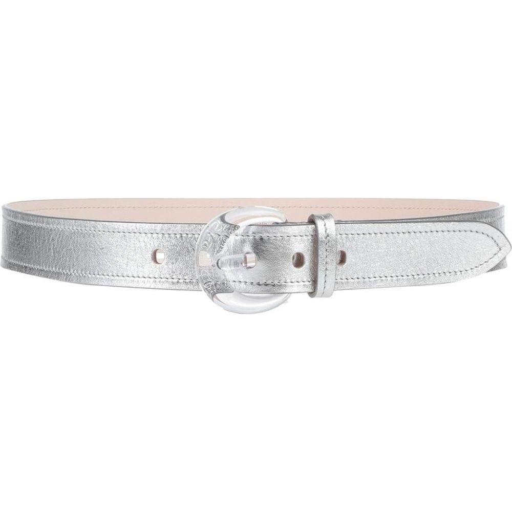 メゾン マルジェラ MAISON MARGIELA レディース ベルト 【regular belt】Silver