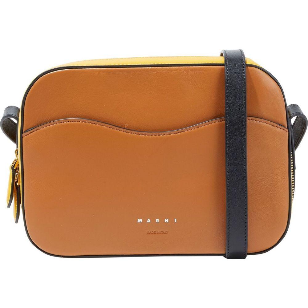 マルニ MARNI レディース ショルダーバッグ バッグ【cross-body bags】Brown