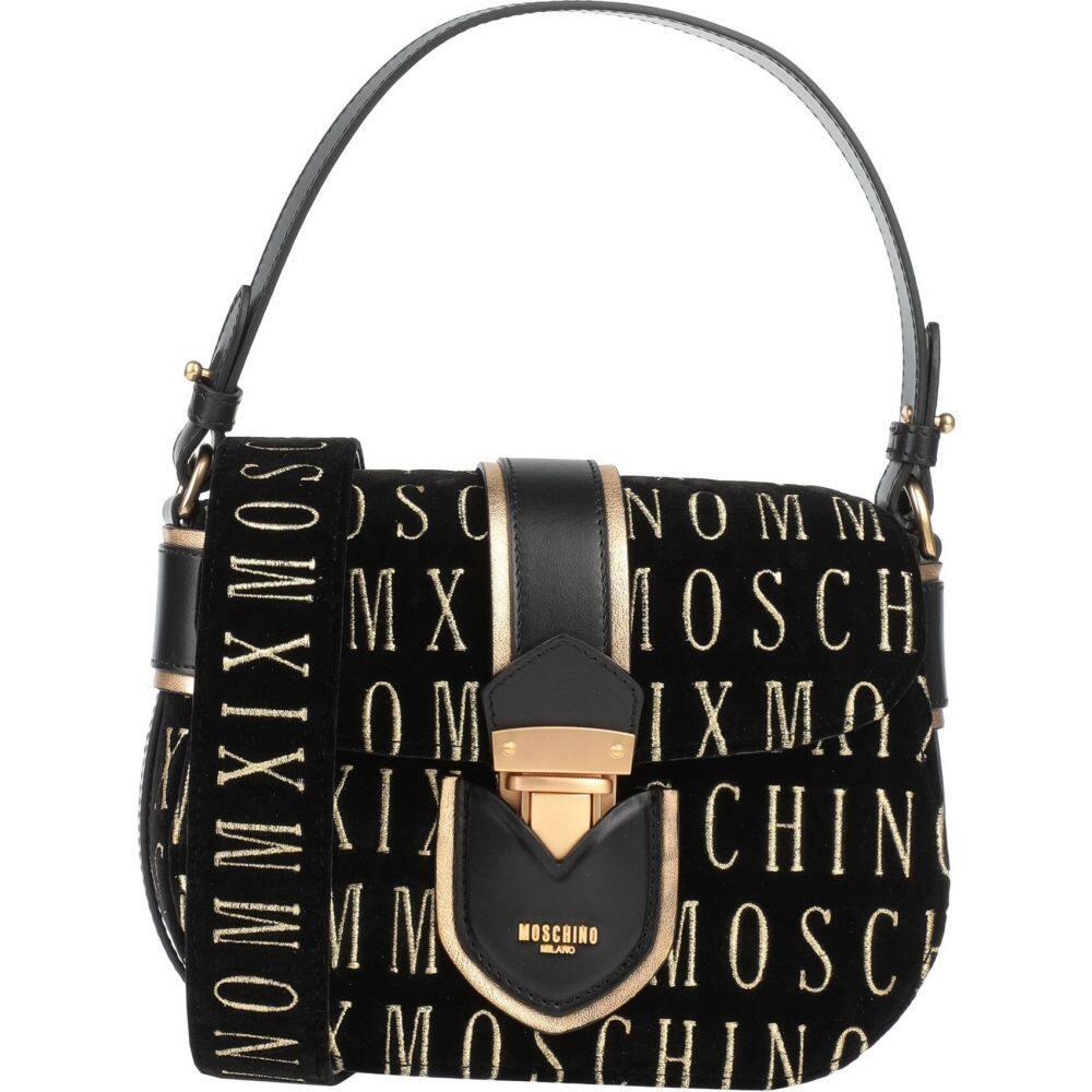 モスキーノ バッグ【cross-body MOSCHINO レディース bags】Black ショルダーバッグ