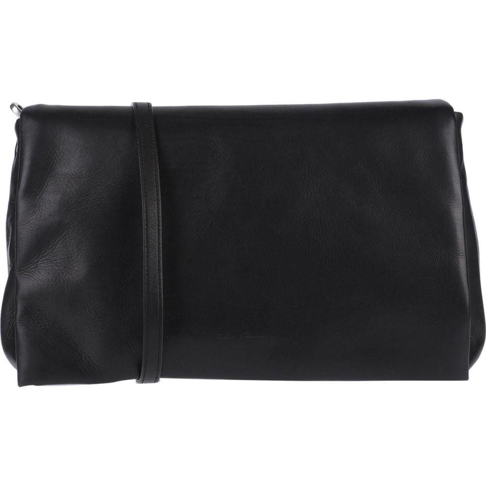 リック オウエンス RICK OWENS レディース ショルダーバッグ バッグ【cross-body bags】Black