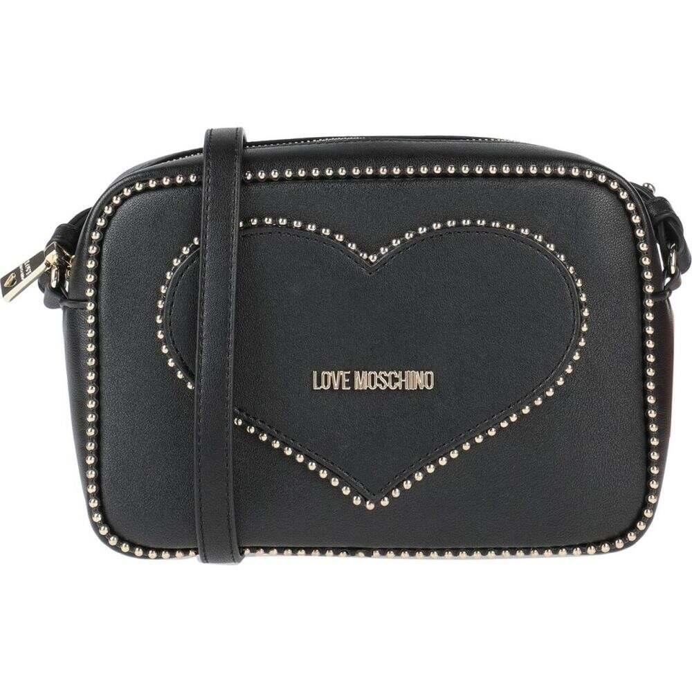 MOSCHINO LOVE bags】Black バッグ【cross-body レディース モスキーノ ショルダーバッグ