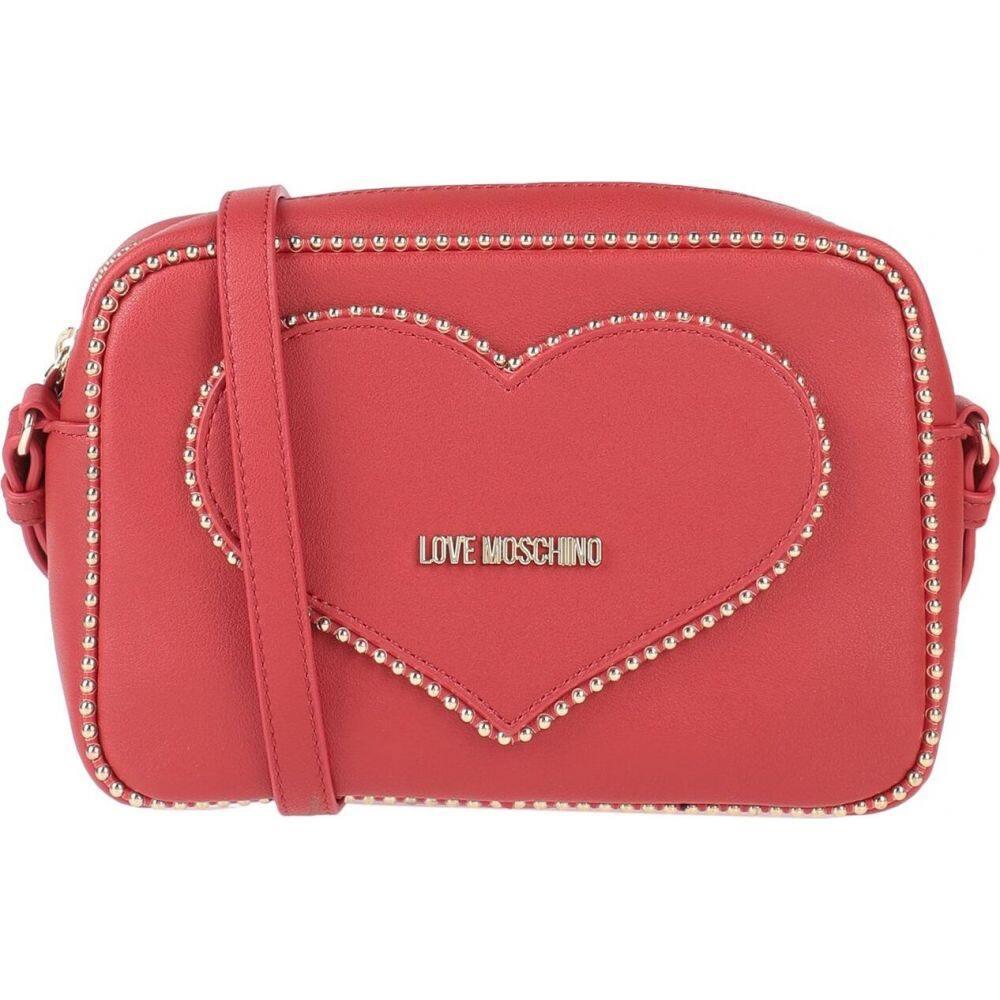 MOSCHINO レディース モスキーノ バッグ【cross-body LOVE bags】Red ショルダーバッグ