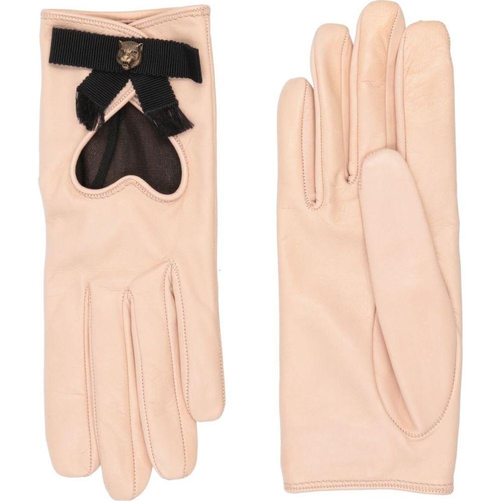 グッチ GUCCI レディース 手袋·グローブ 【gloves】Pale pink