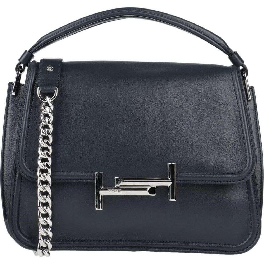 トッズ レディース バッグ ハンドバッグ 出色 Dark お得セット handbag blue TOD'S サイズ交換無料