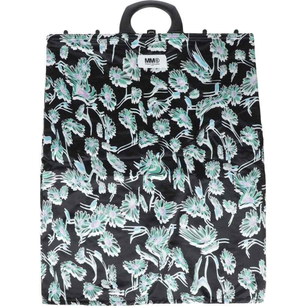 メゾン マルジェラ レディース バッグ 在庫処分 ハンドバッグ 爆売り Black MM6 handbag MARGIELA サイズ交換無料 MAISON