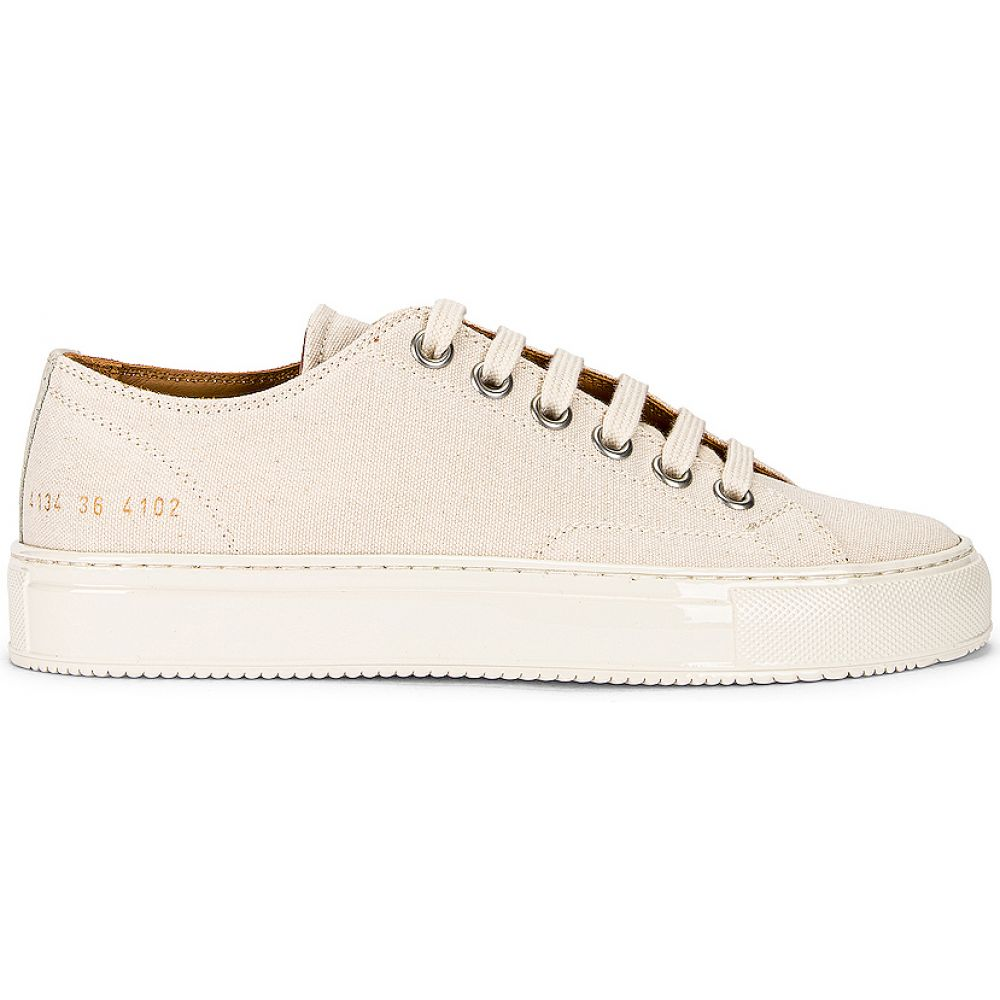 <title>コモン プロジェクト レディース シューズ 新品■送料無料■ 靴 スニーカー Off White サイズ交換無料 Common Projects ローカット tournament low canvas sneaker</title>