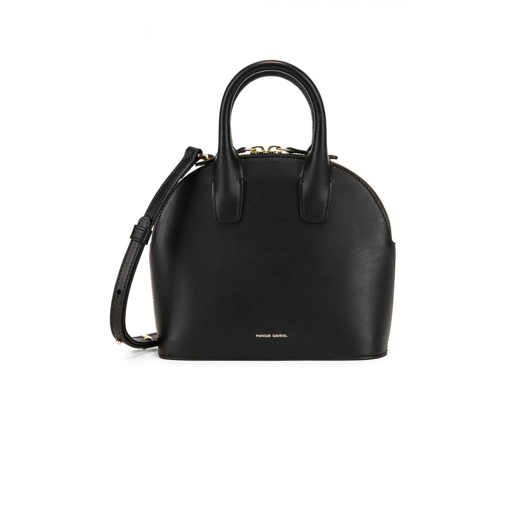 マンサーガブリエル Mansur Gavriel Mansur Top レディース バッグ ハンドバッグ【Mini Flamma Top Handle Bag】Black & Flamma, gym master on-line shop:ff7c9747 --- sunward.msk.ru
