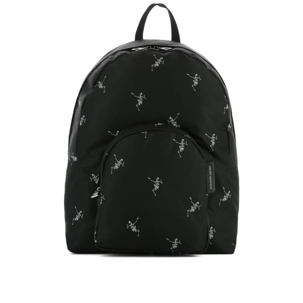 アレキサンダー マックイーン メンズ バッグ バックパック・リュック【Black fabric backpack】Black