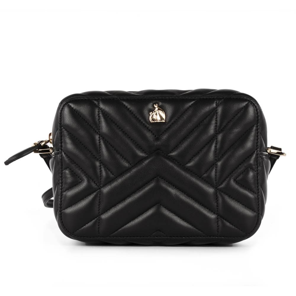 321758f12ba4 ランバン レディース バッグ ショルダーバッグ【Lanvin black leather shoulder bag】Black