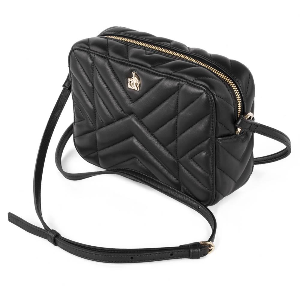 c46c19b47e47 bag】Black shoulder leather black ショルダーバッグ【Lanvin バッグ レディース ランバン-その他
