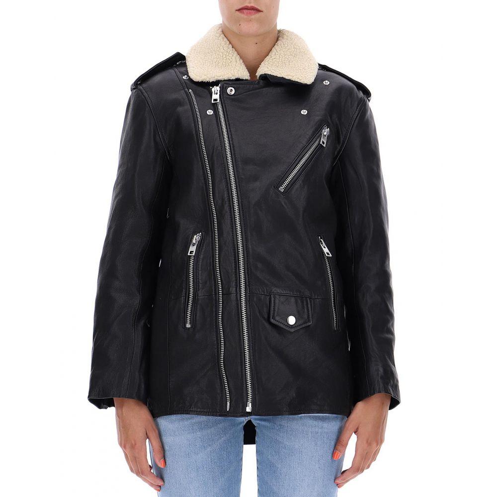 ザディグ エ ヴォルテール Zadig & Voltaire レディース アウター レザージャケット【Black leather jacket】Black