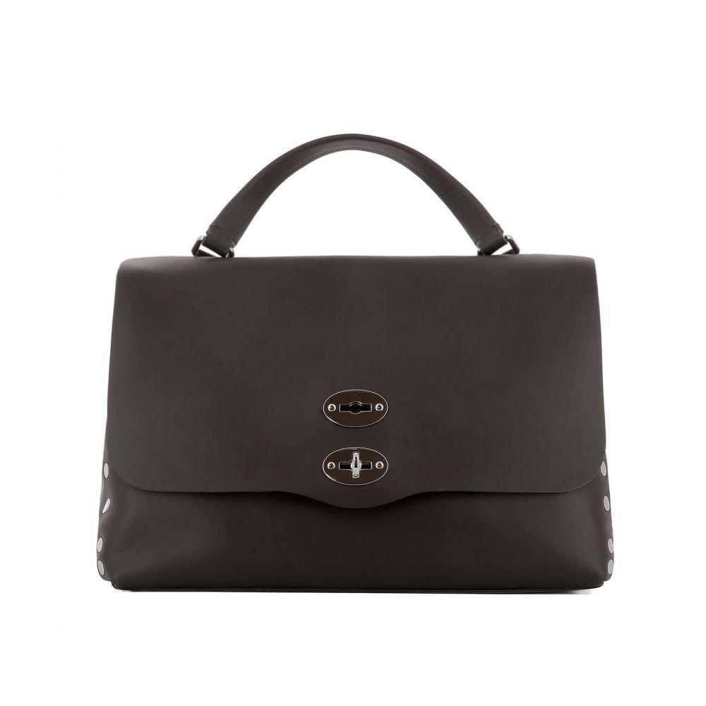 """ザネラート Zanellato レディース バッグ ハンドバッグ【""""La Postina M"""" handle bag】Brown"""
