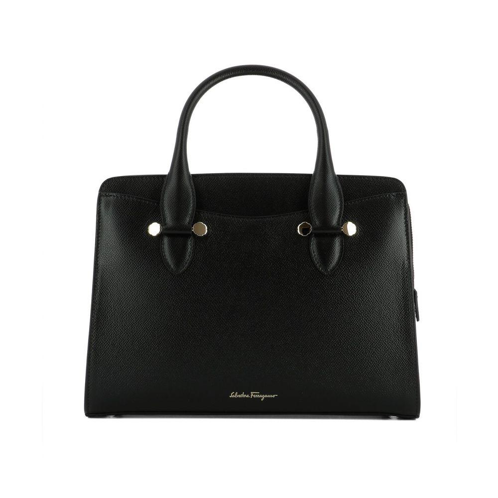 サルヴァトーレ フェラガモ Salvatore Ferragamo レディース バッグ ハンドバッグ【Black leather Today handle bag】Black