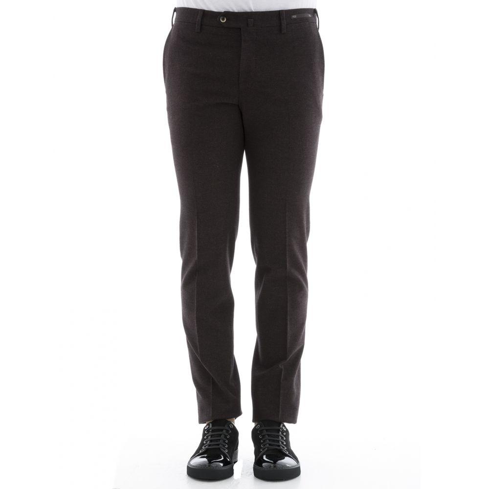 ピーティーゼロウーノ Pt01 メンズ ボトムス・パンツ【Brown cotton pants】Brown