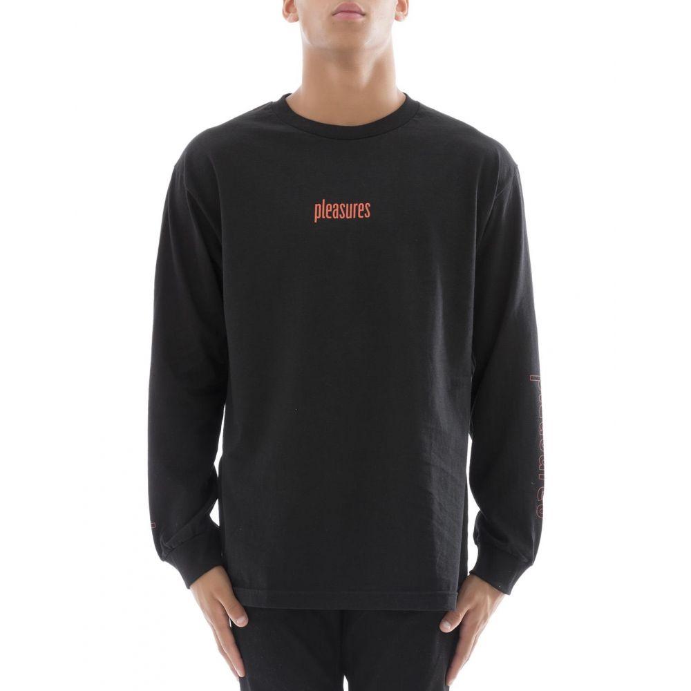 プレジャーズ PLEASURES メンズ トップス Tシャツ【Black cotton t-shirt】Black
