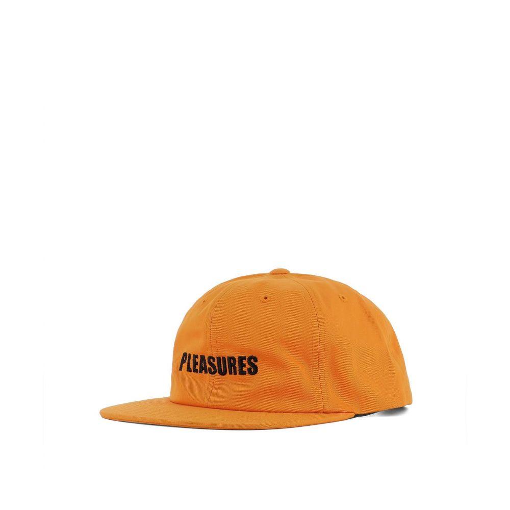 プレジャーズ PLEASURES メンズ 帽子【Orange cotton hat】Orange