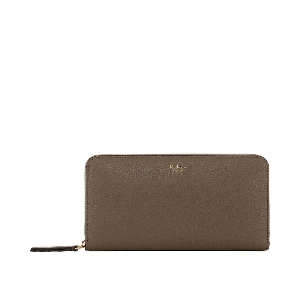 マルベリー Mulberry レディース 財布【Brown leather wallet】Brown