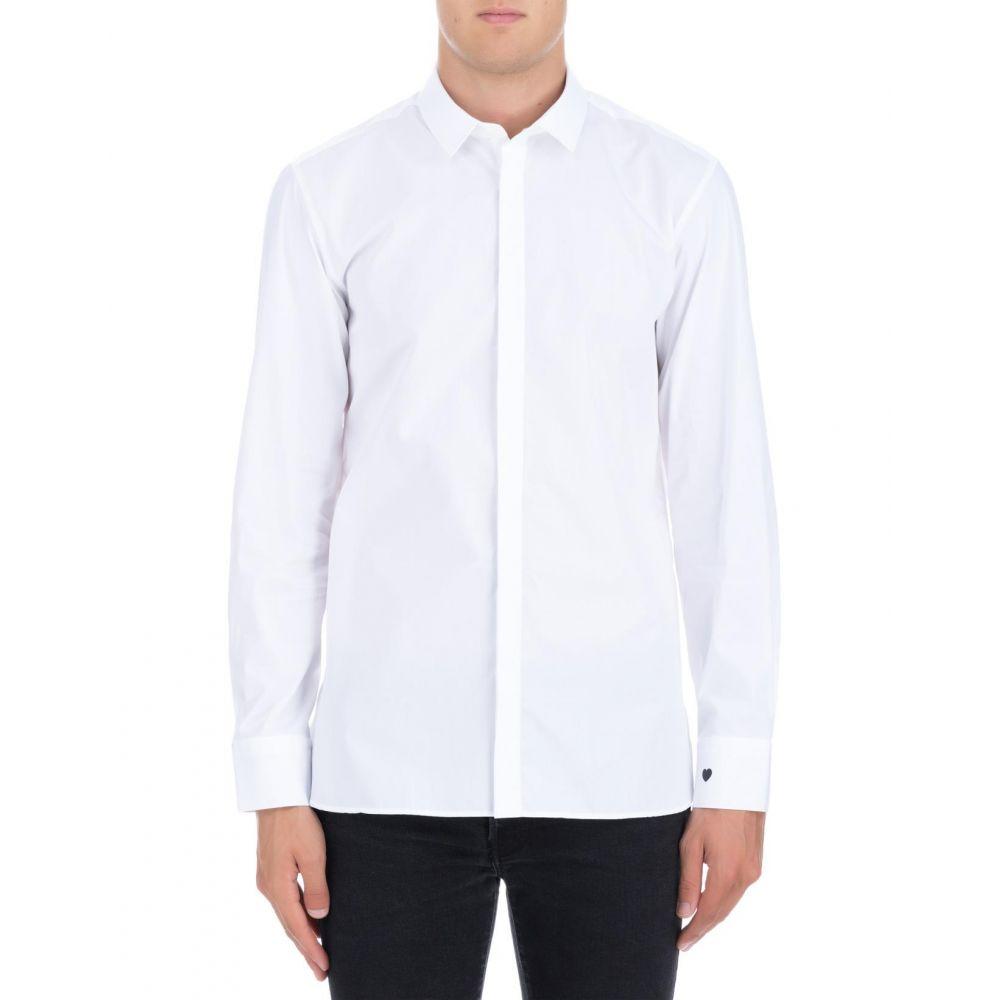 ニール バレット Neil Barrett メンズ トップス シャツ【White cotton shirt】White