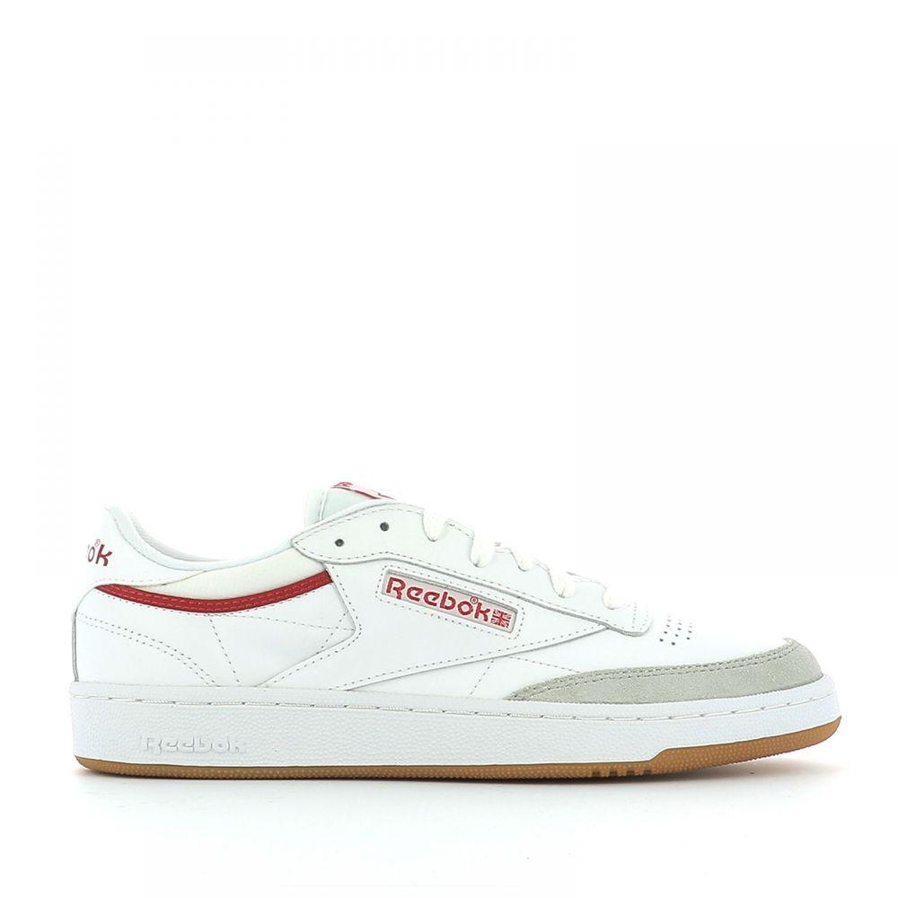 リーボック Reebok メンズ シューズ・靴 スニーカー【white leather sneakers】White