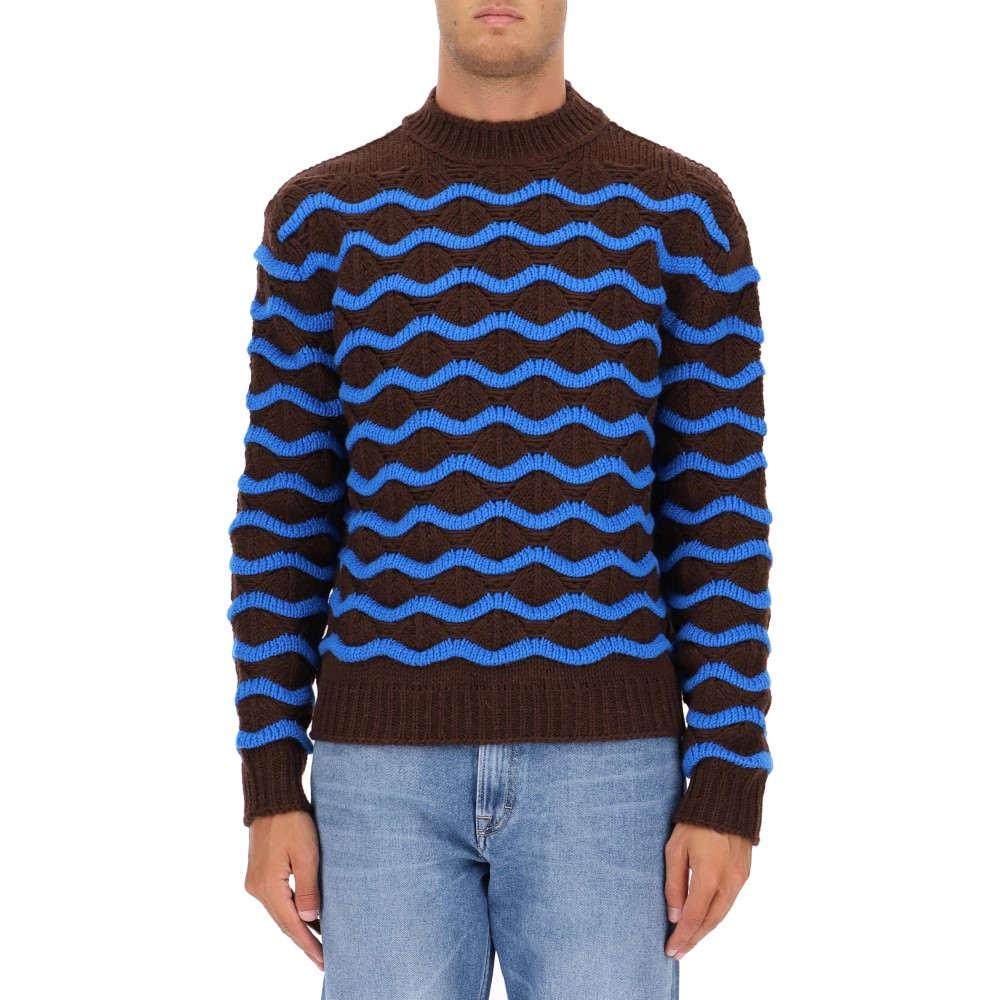 アクネ ストゥディオズ Acne Studios メンズ トップス ニット・セーター【Brown wool sweater】Brown