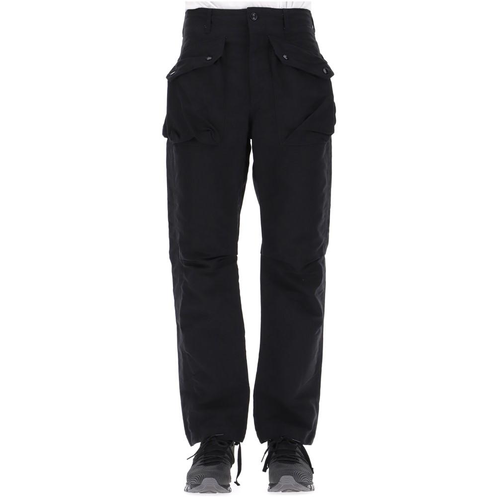 エンジニアードガーメンツ Engineered Garments メンズ ボトムス・パンツ【Black NyCo Ripstop pants】Black