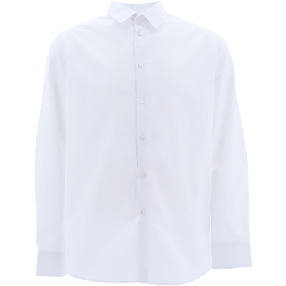 ケンゾー Kenzo メンズ トップス シャツ【White cotton shirt】White