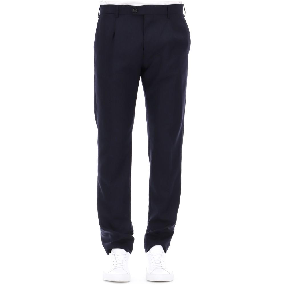 ベルウィッチ Berwich メンズ ボトムス・パンツ スラックス【Blue wool pants】Blue