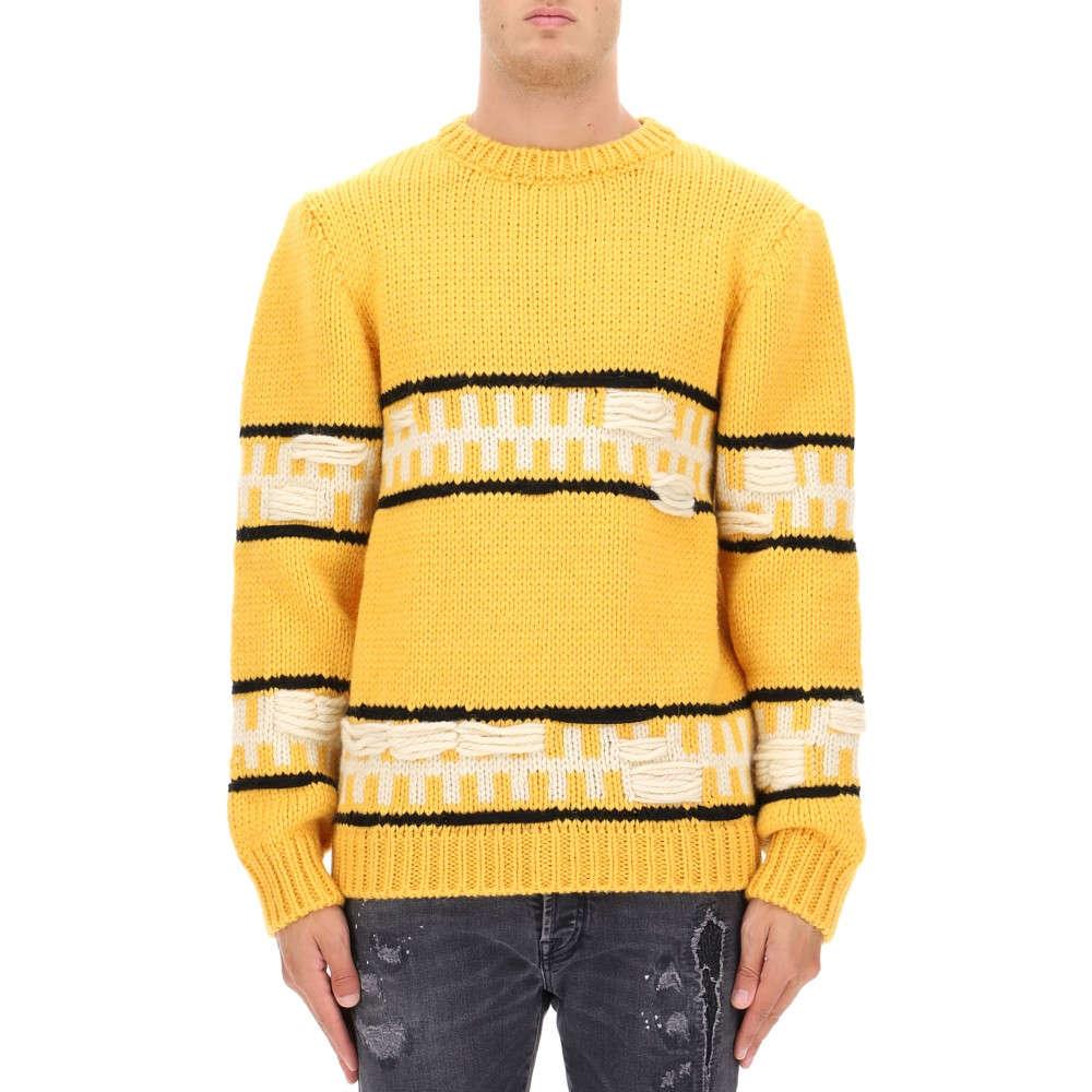カルバンクライン Calvin Klein 205W39NYC メンズ トップス ニット・セーター【Yellow wool sweater】Yellow