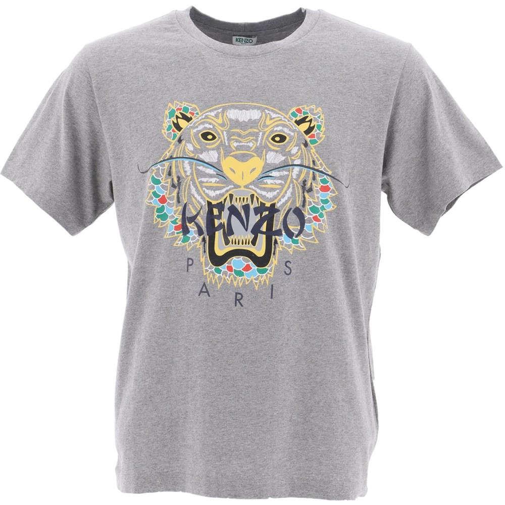 ケンゾー Kenzo メンズ トップス Tシャツ【Grey cotton T-shirt】Grey