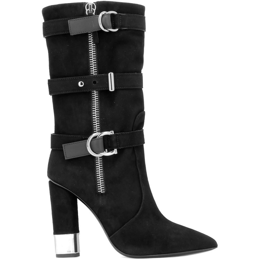 ジュゼッペ ザノッティ Giuseppe Zanotti Giuseppe レディース シューズ ジュゼッペ・靴 ブーツ【Black Zanotti suede boots】Black, キョウワマチ:1760d90c --- sunward.msk.ru