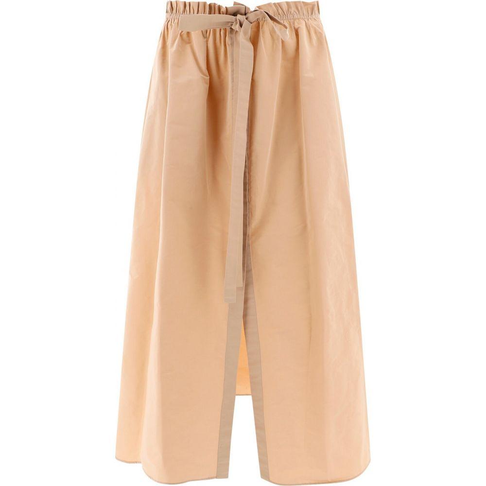 ジバンシー Givenchy レディース スカート スリットスカート【Skirt With Front Slit】Beige