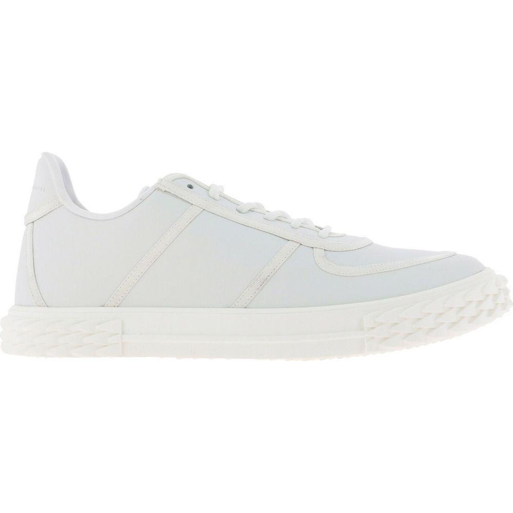 ジュゼッペ ザノッティ Giuseppe Zanotti メンズ スニーカー シューズ・靴【Blabber Sneakers】White
