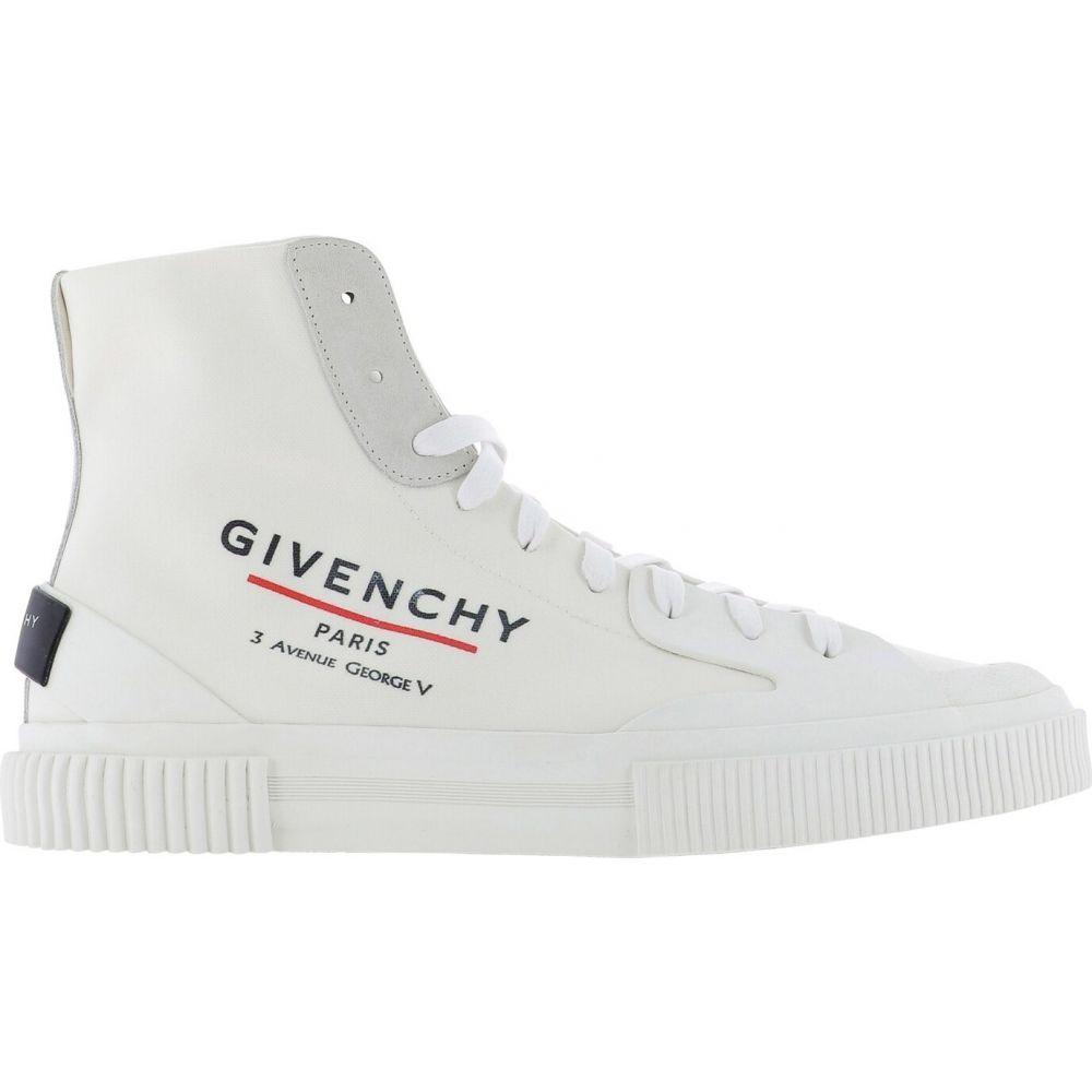 ジバンシー Givenchy メンズ スニーカー シューズ・靴【Tennis Light High Sneakers】White